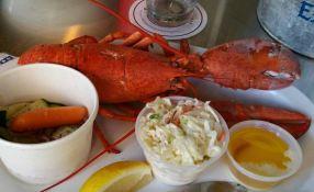 St Paul Fish Company Lobster Dinner